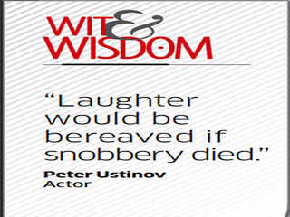 Quote by Peter Ustinov