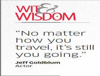 Who is Jeff Goldblum?