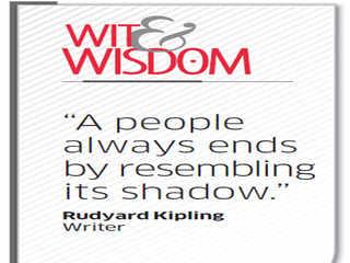 Quote by Rudyard  Kipling
