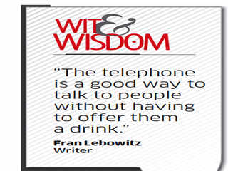 Quote by Fran Lebowitz