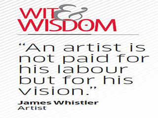 Quote  by James Whistler