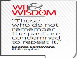 Quote  by George Santayana