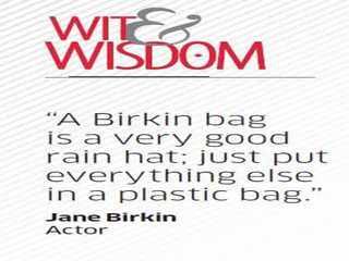 Quote by Jane Birkin