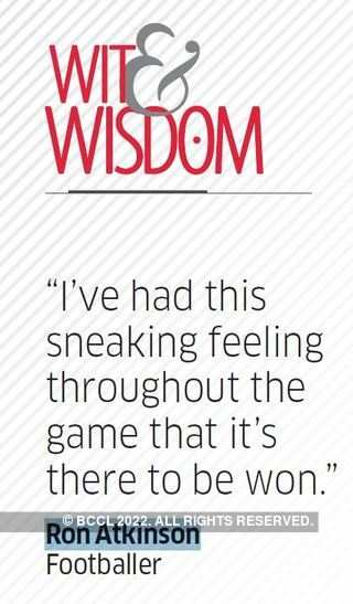 Quote by Ron Atkinson