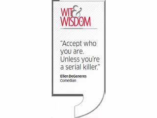 Quote by Ellen DeGeneres