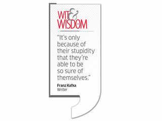 Quote by Franz Kafka