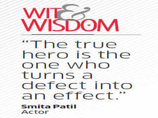 Quote by Smita Patil