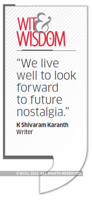 Quote by K Shivaram Karanth