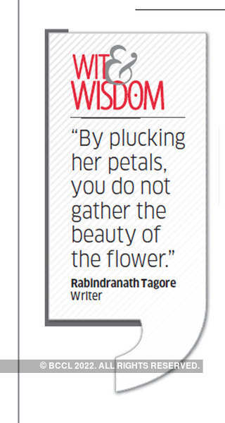 Who is Rabindranath Tagore?