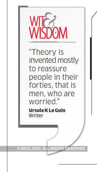 Who was Ursula K Le Guin?