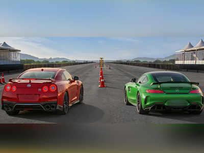 Autocar Show: Nissan GT-R vs Mercedes-AMG GT R