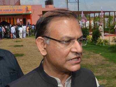 Opposition members raise slogans against Jayant Sinha in Lok Sabha