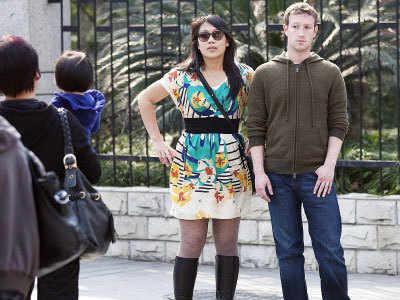 Facebook CEO Mark Zuckerberg  in Shanghai