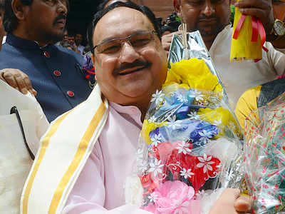 JP Nadda rode on UP success to working president chair