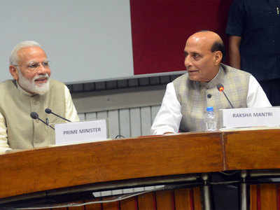 PM to set up panel to look into issue of simultaneous polls: Rajnath Singh