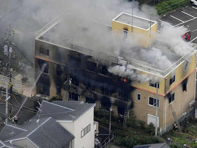13 dead in suspected arson attack on Japan animation studio