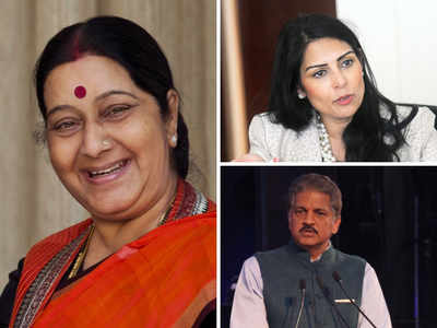 Sushma Swaraj dies: Mahindra, Priti Patel remember 'Iron lady'; B-town celebs mourn the loss of a leader