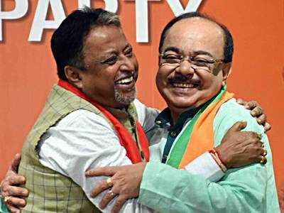 Sovan Chatterjee joins BJP, severe jolt for TMC