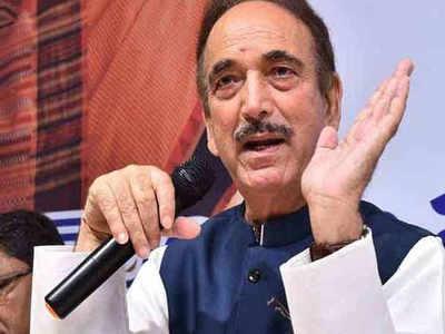 No emergency, yet fundamental rights abrogated: Ghulam Nabi Azad in SC