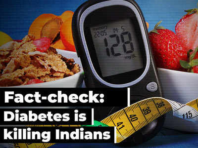 Fact-check: Diabetes is killing Indians; control your weight, diet to delay condition
