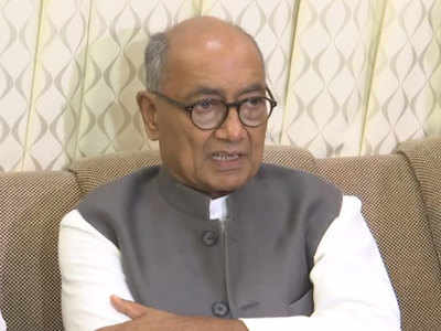 President's Rule in Maharashtra imposed under pressure of Modi, Shah: Digvijaya Singh