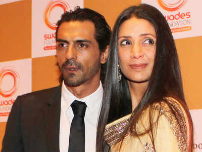 Arjun Rampal, Mehr Jesia granted divorce; daughters to live with mother in Bandra