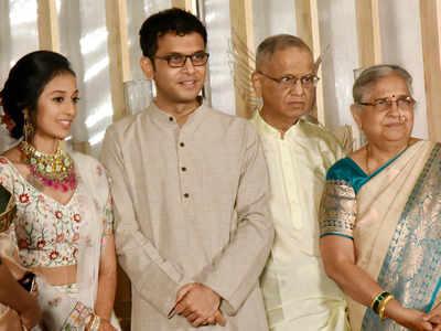 Rohan-Aparna's wedding was an intimate affair; Infy co-founders, Prakash Padukone bless couple