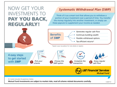 Systematic Withdrawal Plan - A smart technique for regular income