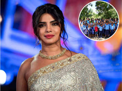 Happy feet: Priyanka Chopra is partnering with Crocs to donate 50,000 clogs to school children