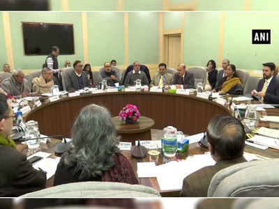 FM Sitharaman holds pre-budget consultations with stakeholder groups of trade union