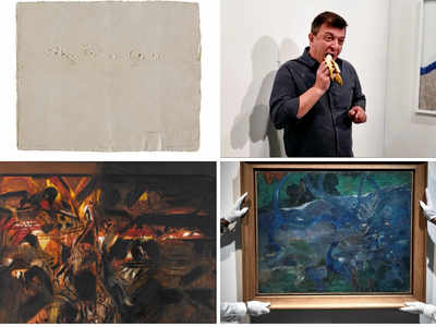 Raza's 'La Terre', Souza's 1958 Untitled oil & other artworks that fared well at 2019 auctions