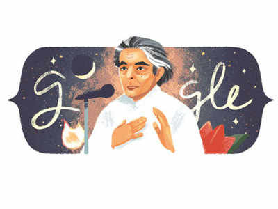 Kaifi Azmi's 101st birth anniversary: Google celebrates with a doodle