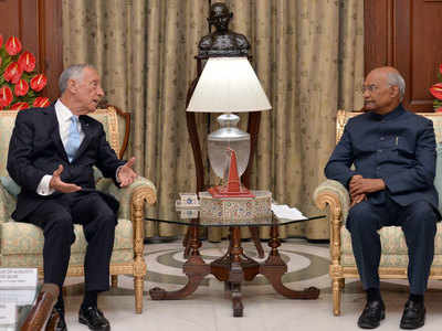 India, Portugal exchange 14 pacts in key areas, Kovind holds talks with Portuguese president