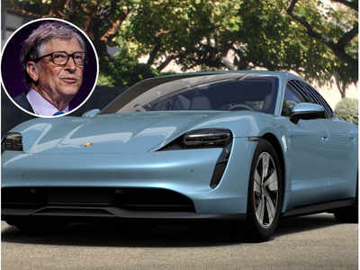 A green drive: Climate crusader Bill Gates buys an electric Porsche Taycan; says he prefers EVs over fossil fuel cars