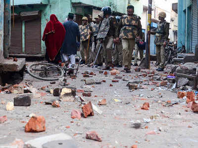 Uneasy calm in Aligarh day after clashes between police, anti-CAA protesters