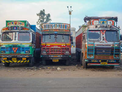 Hit by a virus and lockdown, the wheels are coming off the Indian logistics industry