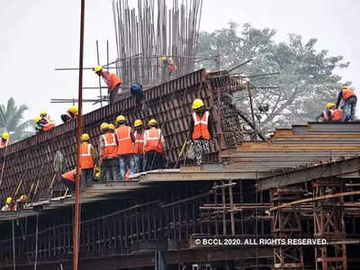 NCR developers hope to resume work soon, keep labourers at construction site