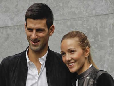 Novak Djokovic, wife test negative for coronavirus