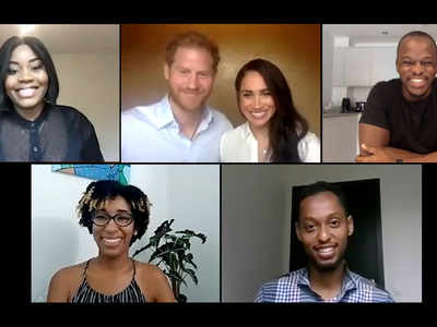 Prince Harry, Meghan address BLM movement during QCT video call, say Commonwealth should 'acknowledge' past wrongs
