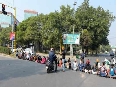 Big support for bandh in Punjab, Haryana