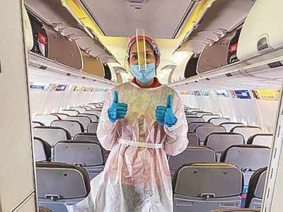 Asymptomatic air crew who test positive for COVID-19 will undergo 10-day home isolation