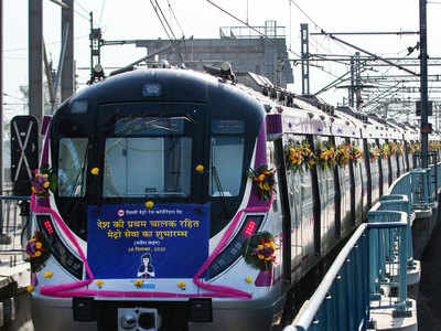 India's first driverless train evokes pride, excitement among passengers young and old
