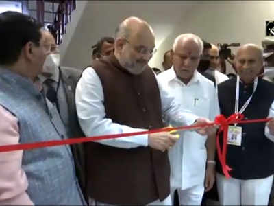 Karnataka: Amit Shah inaugurates advanced simulation centre at Belagavi Hospital