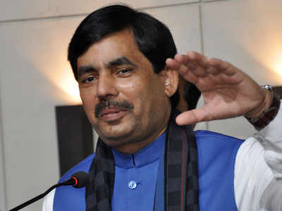 Shahnawaz Hussain, Mukesh Sahani file nominations for Bihar council by-polls