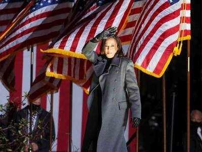 US Vice President-elect Kamala Harris formally submits her Senate resignation