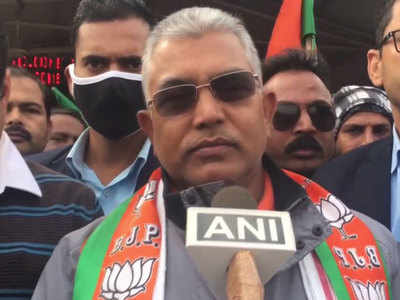 BJP reduced TMC to half in 2019, will wipe them out in 2021: Dilip Ghosh