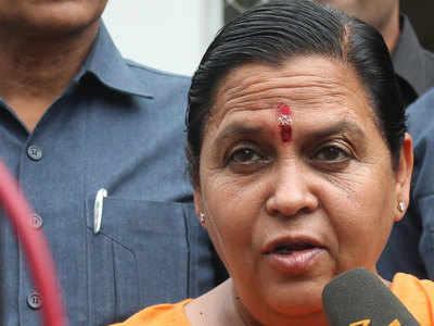 MP: Digvijaya's tongue is his enemy, says BJP's Uma Bharti