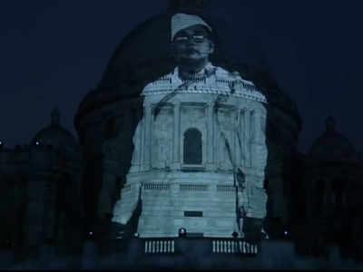 Watch: Laser show portrays Subhas Chandra Bose's life