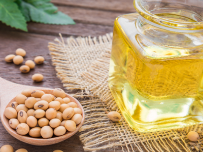 Refined soya oil futures fall on low demand