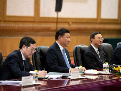 China for resolving disputes through dialogue; Don't bully weak by showing off muscles: Xi Jinping